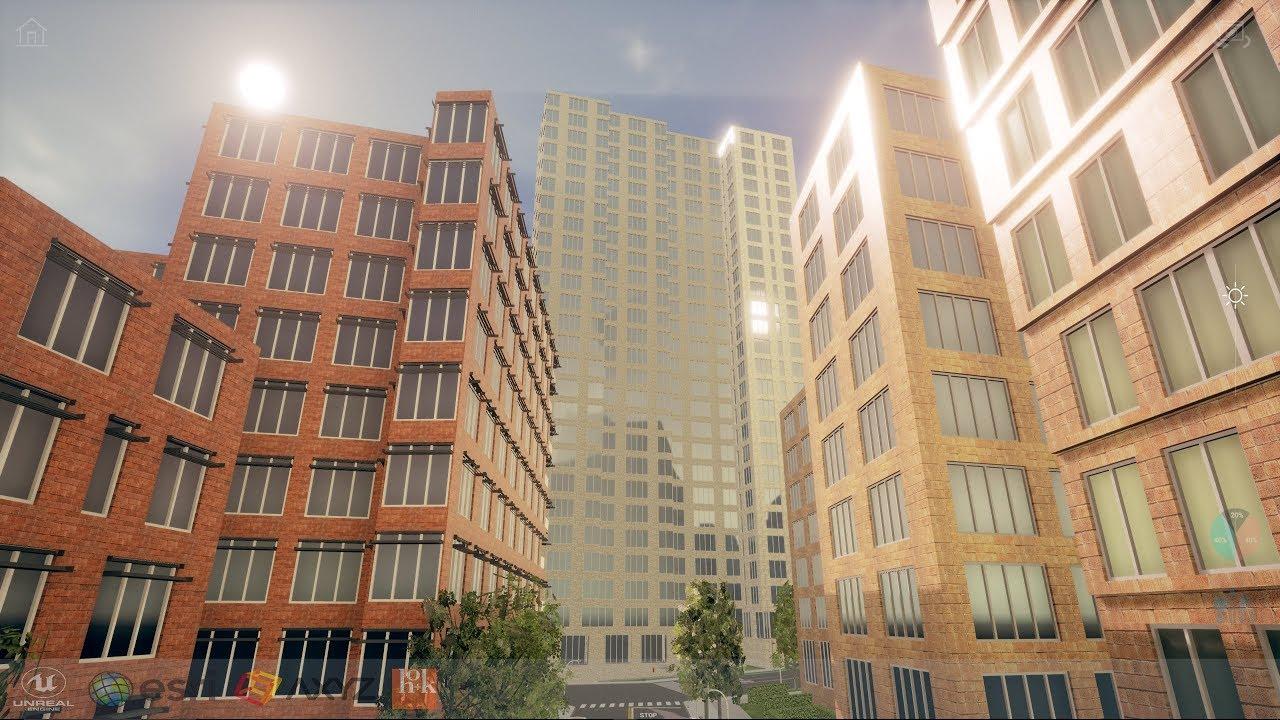Unreal and CityEngine: The Future of Urban Design Visualization