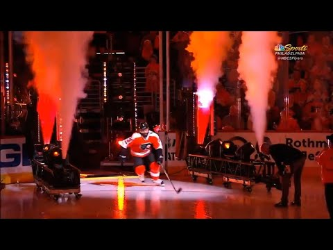 Philadelphia Flyers Player Introductions 2017-18 Season!