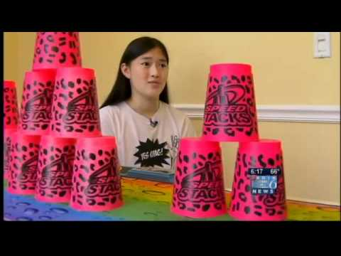 Portland athlete 'goes pro' with cupstacking skills