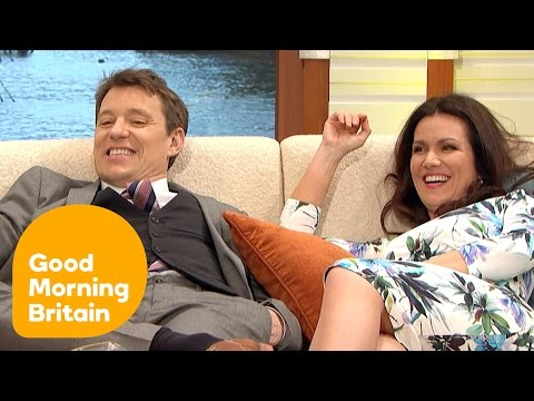 GMB Team Mercilessly Mock Richard Arnold's Relaxed Interview Style! | Good Morning Britain