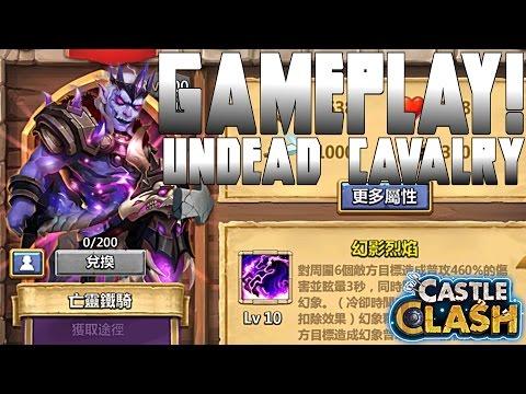 Castle Clash Revenant Gameplay | New Hero!