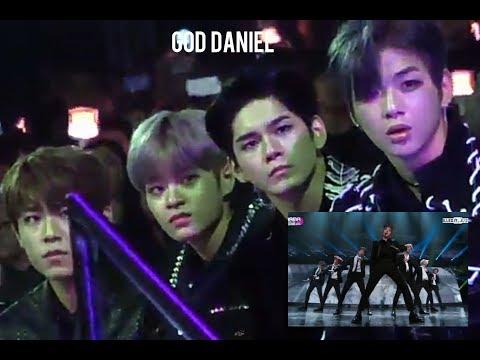 Wanna one 워너원 reaction to BTS 방탄소년단 MIC DROP REMIX @ MAMA 2017 ( KANG DANIEL, SEONGWU, LEE DHEHWI)
