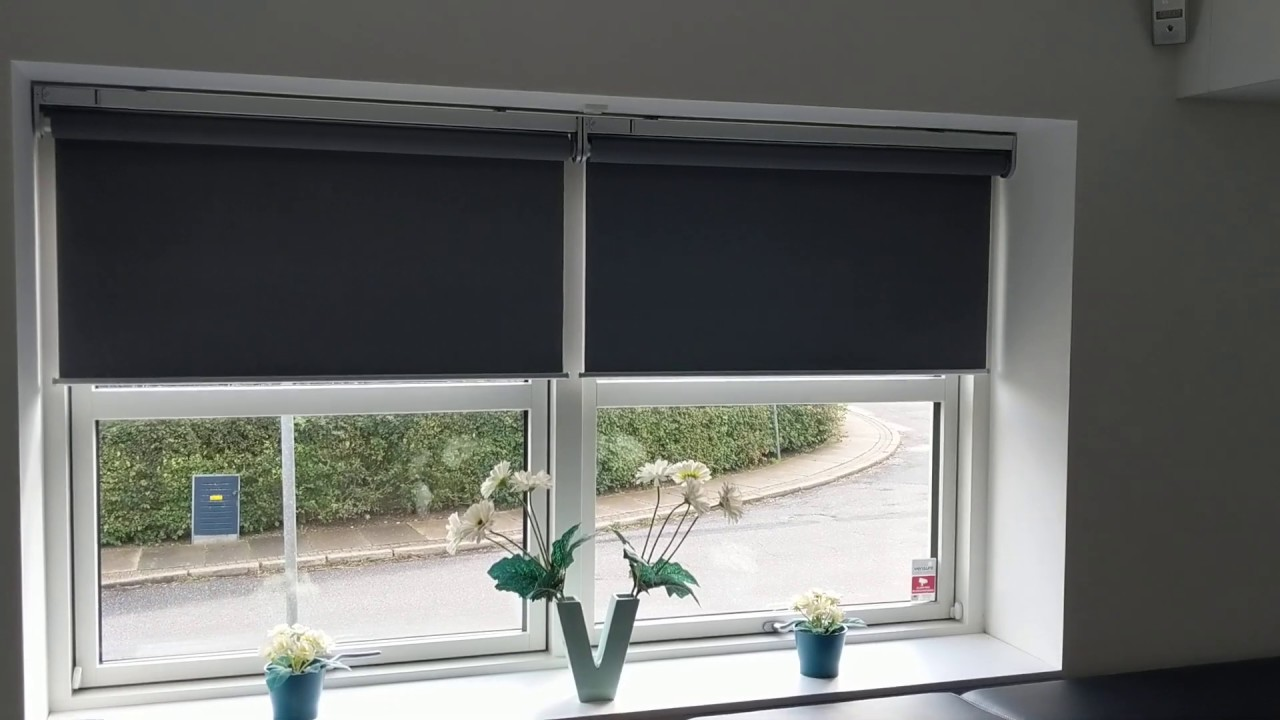 Ikea Fyrtur 2 blinds moving in sync. Sort off, it has been fixed ...