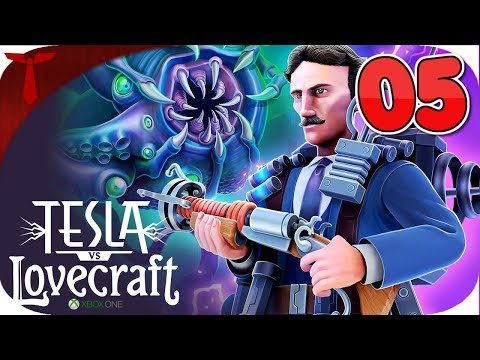TESLA VS LOVECRAFT GAMEPLAY WALKTHROUGH | XBOX ONE | PART 5