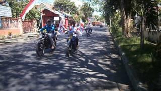 konvoi gardu prabowo DPC Probolinggo