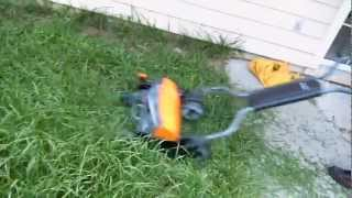 Fiscars 18 inch reel lawn mower