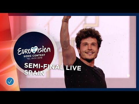Spain - LIVE - Miki - La Venda - First Semi-Final - Eurovision 2019