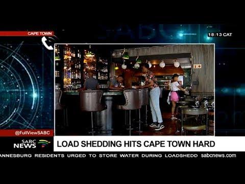 Impacts of loadshedding in Cape Town: Mariska Botha