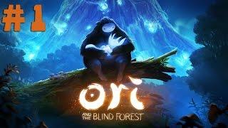 Прохождение Ori And The Blind Forest - Прощай Друг #1