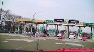 レガシィ高速道車載 国道4号線岩沼から仙台東部道路岩沼IC~仙台東ICまで GZ-E265撮影