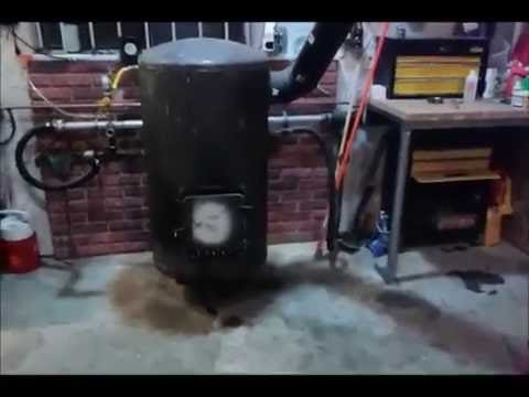Homemade 5 Dollar Waste Oil Burner Fantastic Free Heat