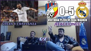 VIKTORIA PLZEN VS REAL MADRID 0-5 REACCION | CHAMPIONS LEAGUE 2018