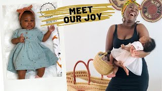 Meet Baby Arikana || Introducing Our Baby Girl To Her Internet Aunties & Uncles || Adede