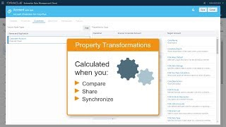 Transforming Properties Using Expression Builder in Oracle Enterprise Data Management video thumbnail