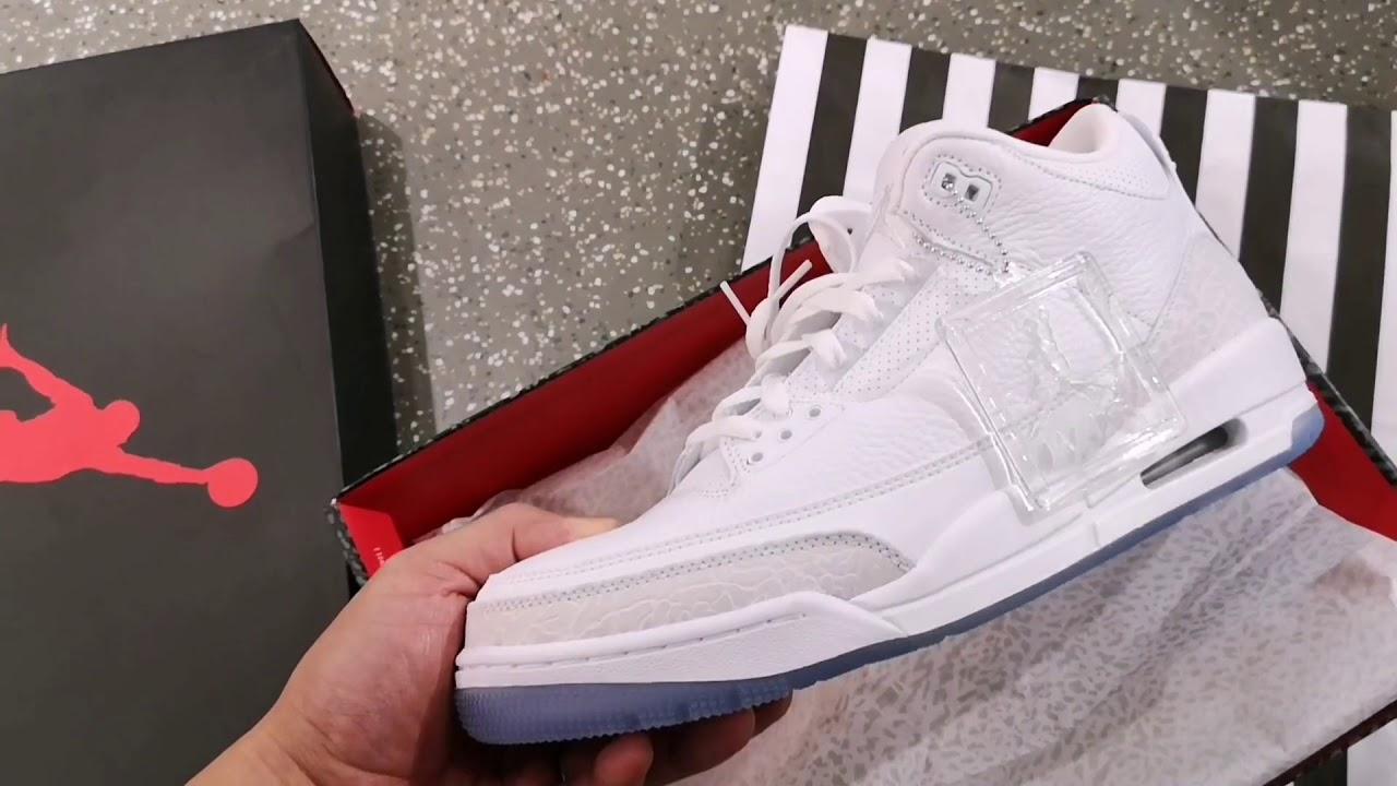 e1488deca4c Jordan 3 Retro Pure Money Unboxing & On Feet and New London ...