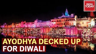Ayodhya All Decked Up For Diwali, CM Yogi Adityanath To Lead Celebration