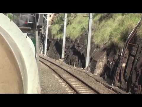 Brisbane Model Train Show 2015 - Steam Train Service