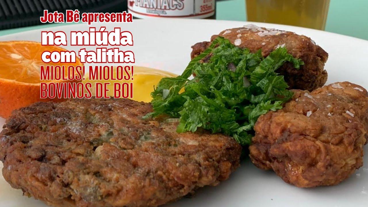 Jota Bê apresenta NA MIÚDA COM TALITHA • Miolos! Miolos Bovinos de Boi