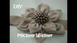 DIY – Flor de pétalas com pontas passo a passo