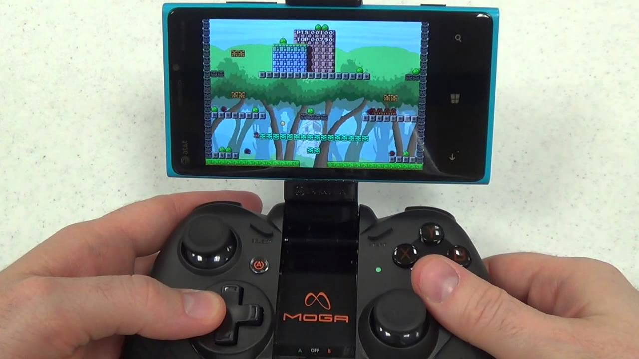 MOGA Pro Controller Windows Phone Tutorial Amp Review YouTube