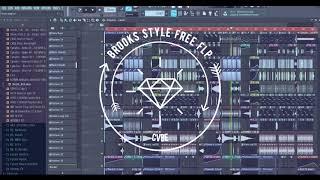 FL Studio 2018 - Full Track FLP - Brooks Style