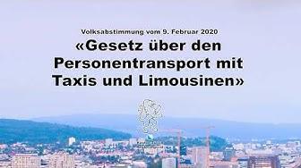 Gesetz über den Personentransport mit Taxis und Limousinen