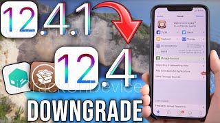 Downgrade iOS 12.4.1 to iOS 12.4 & Jailbreak - iPhone, iPad & iPod! (KEEP DATA)