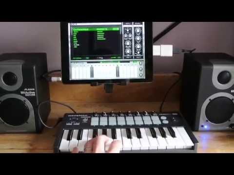 Connecting Midi Keyboard to iPad Air