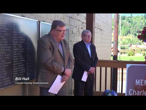 Charles and Clifford Johnson Memorial Ceremony in Toledo Oregon 8 31 2017 21