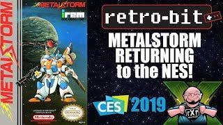 CES 2019: Retro-bit Announces Metal Storm Re-Release! Coming to CastlemaniaGames & Limited Run Games