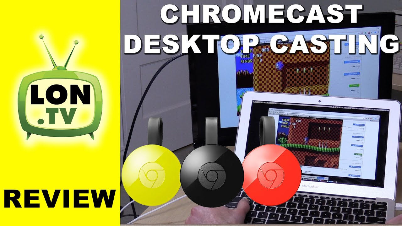 Chromecast Full screen PC mirroring - gaming casting latency lag test