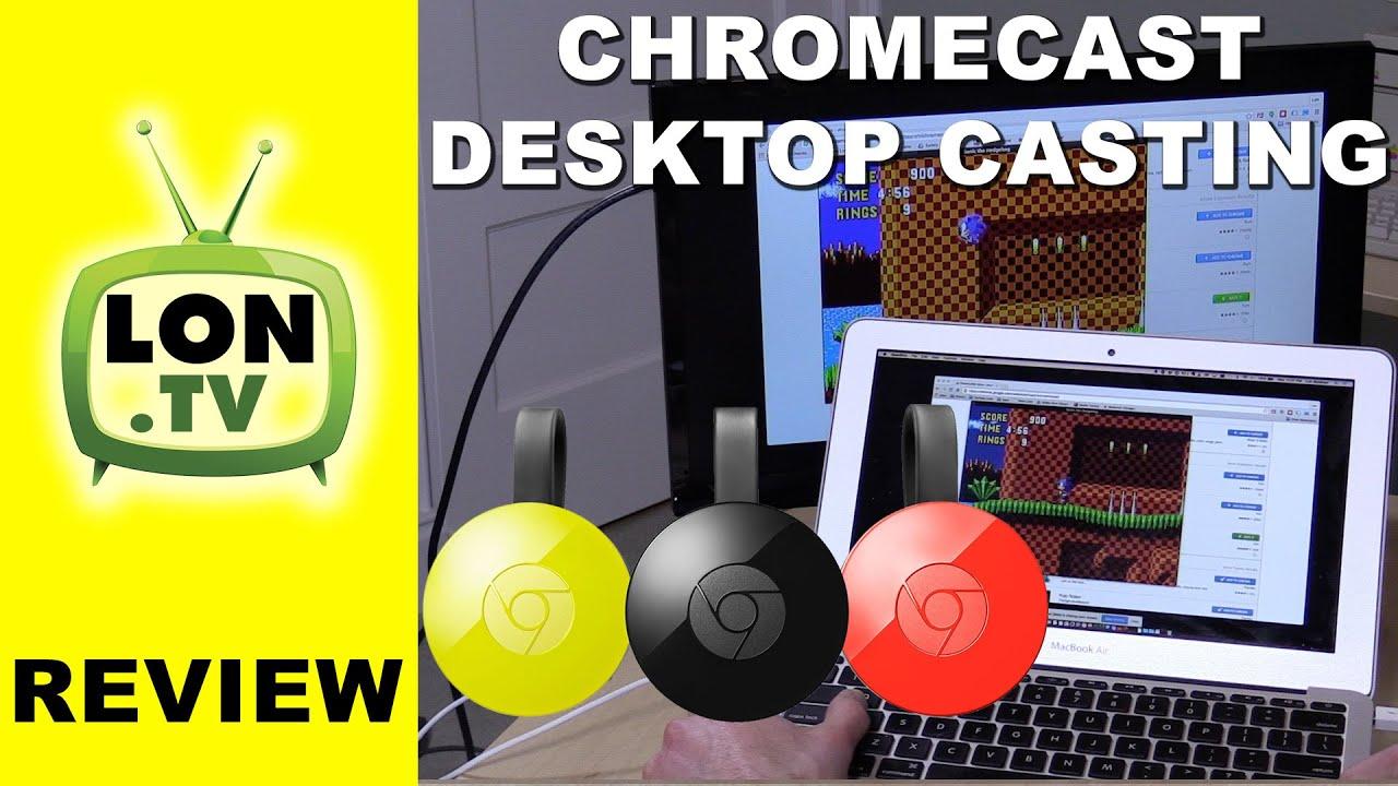 Cast to pc chromecast