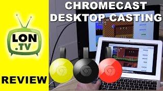 Chromecast Full screen PC mirroring - gaming casting latency lag test