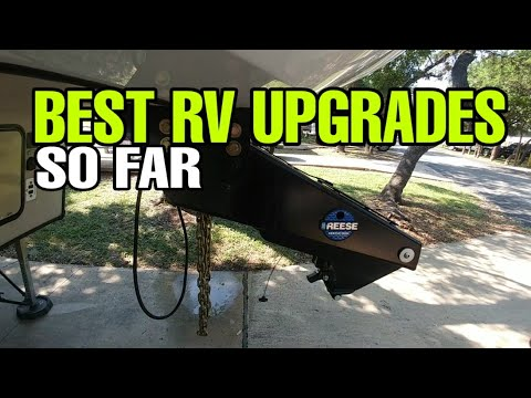 Fifth Wheel RV upgrades overview and Follow up!  How do I like them now?