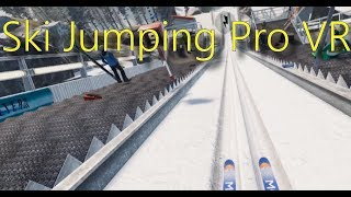 Gambar cover Ski Jumping Pro VR Gameplay - The first jumps