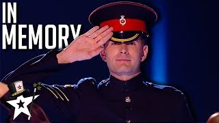 Soldier Dedicates Magic Act to His Hero on Britain's Got Talent 2019 | Magicians Got Talent