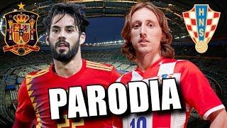 Canción Croacia vs España 3-2 (Parodia Adan Y Eva)