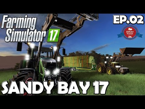 Lets Play Farming Simulator 17 | Sandy Bay 17 Ep 02