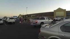 Parking a Lot, 2555 Apache Trail, Apache Junction, Arizona, Walmart, 15 July 2016, GP031324