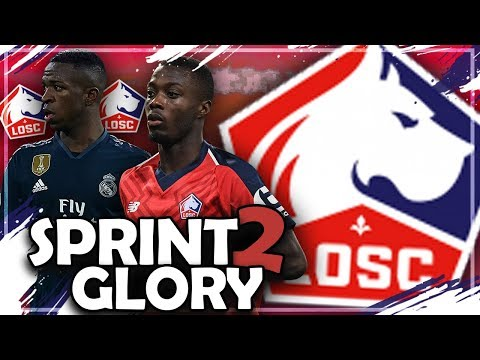 NUR MIT AMERIKA SPIELERN ZUM CL TITEL ?! 💥🔥   FIFA 19: LOSC LILLE Sprint to Glory Challenge