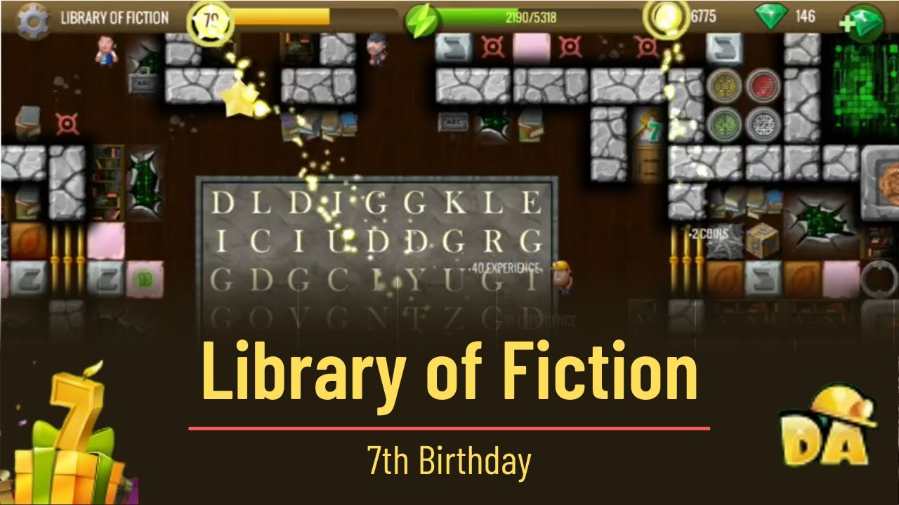Library of Fiction   #13 7th Birthday   Diggy's Adventure   YouTube
