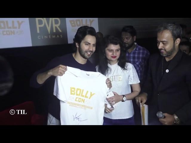 Muskaan Kasmani - BollyCon Varun Dhawan Fanclub President Acceptance Speech