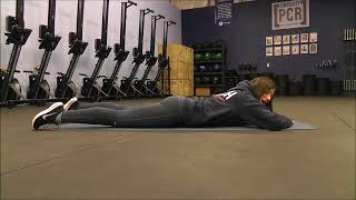 This type of back lift (somatic) can help motor control in the back...