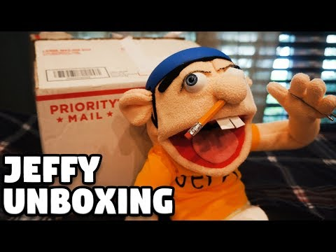 Jeffy Puppet Unboxing!