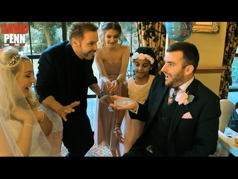 Wedding Magician - Ansty Hall - David Penn from Britain's Got Talent