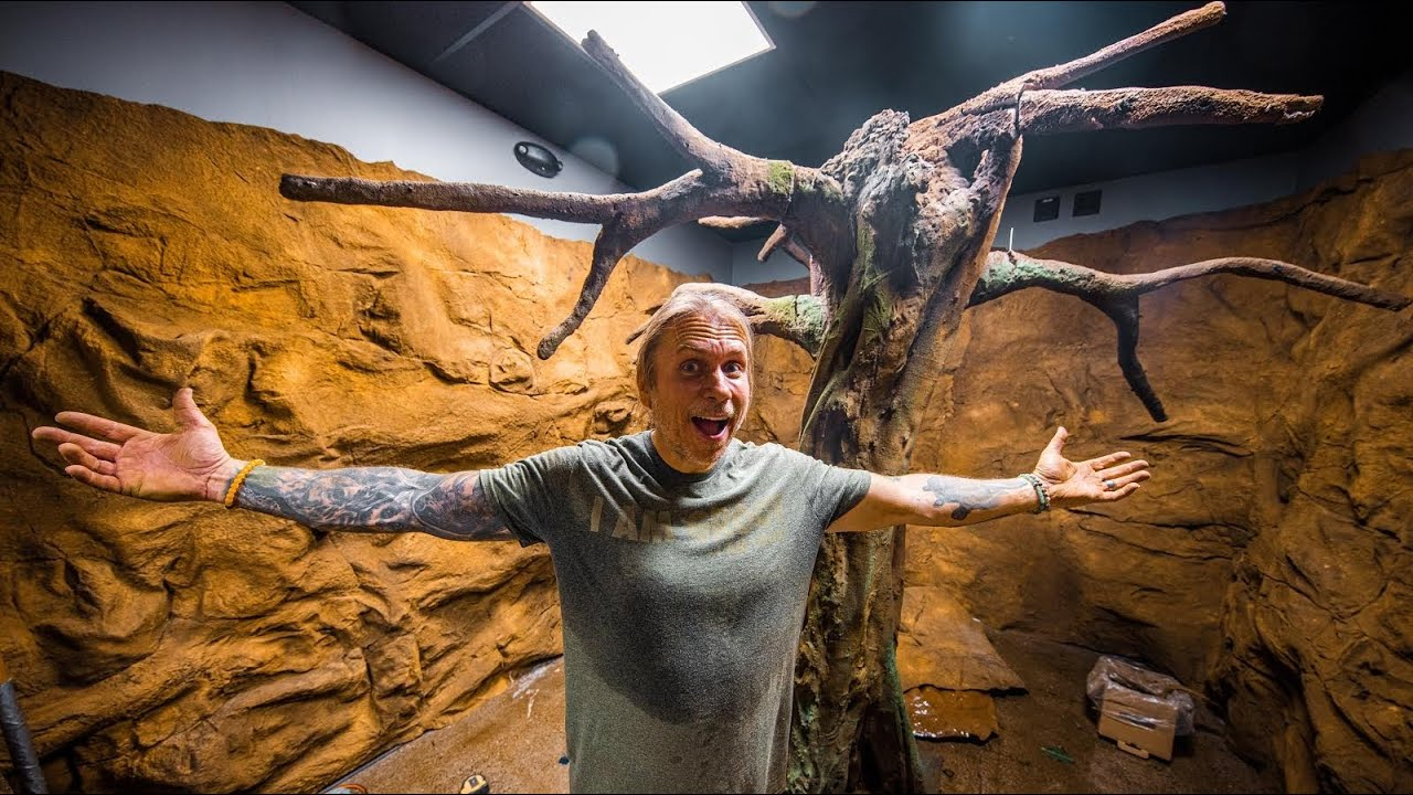I BUILT MY SLOTH's EXHIBIT!! LOOKS AWESOME!! | BRIAN BARCZYK