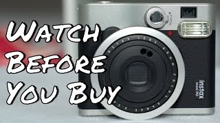 WATCH BEFORE YOU BUY - Fujifilm Instax Mini 90 Neo Classic