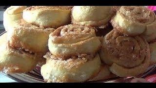 15. Булочки с корицей. Cinnamon buns
