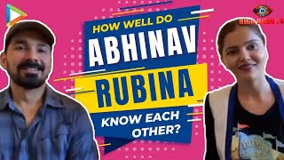 Bigg Boss 14 - Abhinav & Rubina's DHAMAKEDAR Quiz - How well do they know each other?