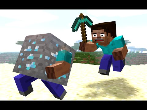 If BLOCKS Could RUN ! - Craftronix Minecraft Animation